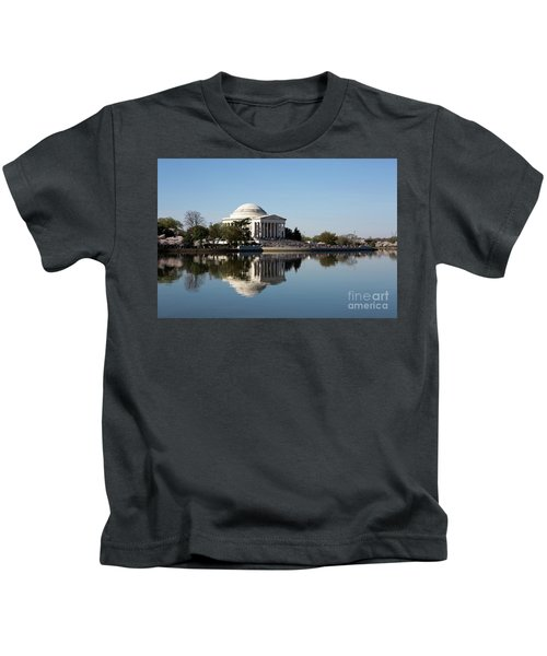 Jefferson Memorial Cherry Blossom Festival Kids T-Shirt