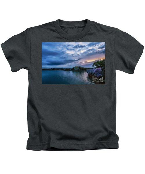Jefferson Memorial Dawn Kids T-Shirt