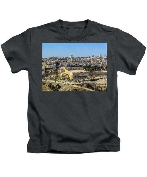 Jerusalem Of Gold Kids T-Shirt