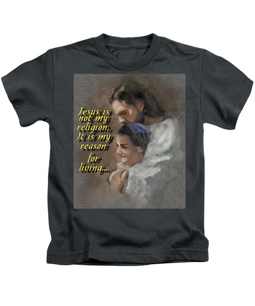 Jesus Is Not My Religion Kids T-Shirt