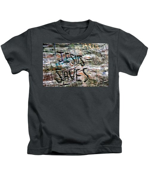 Jesus Saves Kids T-Shirt