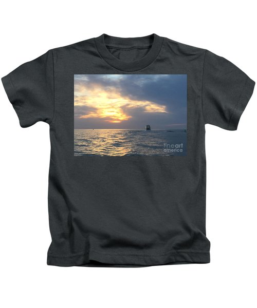 Watching Over The Inlet Kids T-Shirt