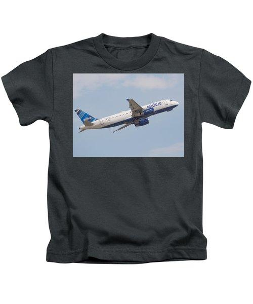 Jet Blue Kids T-Shirt