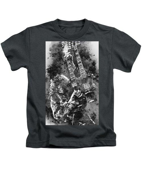 Jimmy Page - 02 Kids T-Shirt