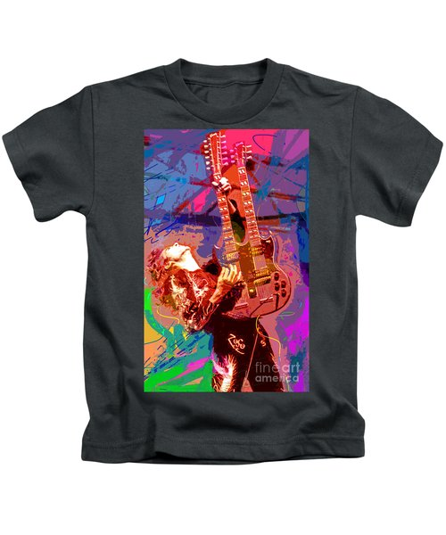 Jimmy Page Stairway To Heaven Kids T-Shirt