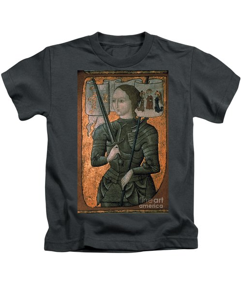 Joan Of Arc (c1412-1431) Kids T-Shirt