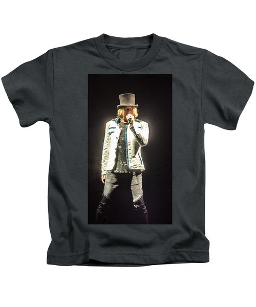 Joe Elliott Kids T-Shirt by Luisa Gatti