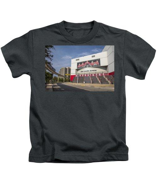 Joe Louis Arena Detroit  Kids T-Shirt