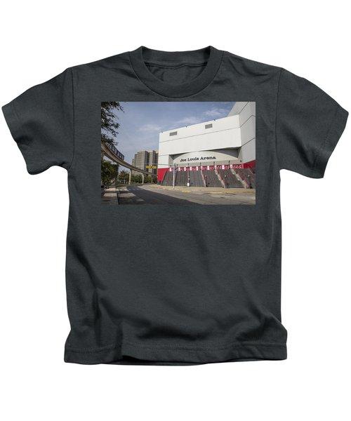 Joe Louis Arena  Kids T-Shirt