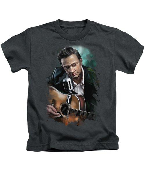 Johnny Cash Kids T-Shirt