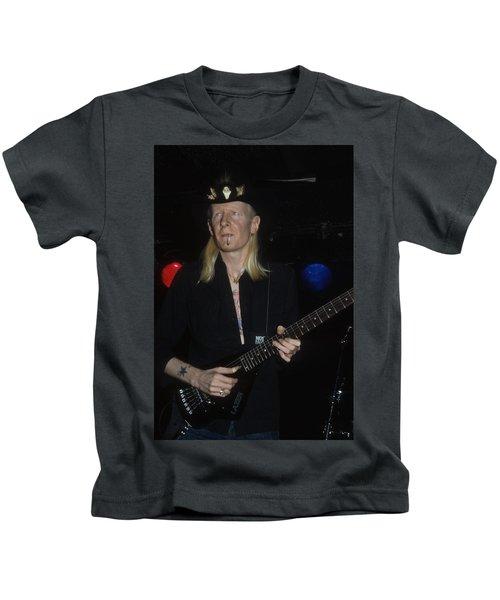 Johnny Winter Kids T-Shirt