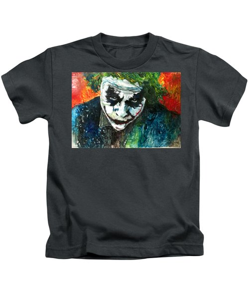 Joker - Heath Ledger Kids T-Shirt