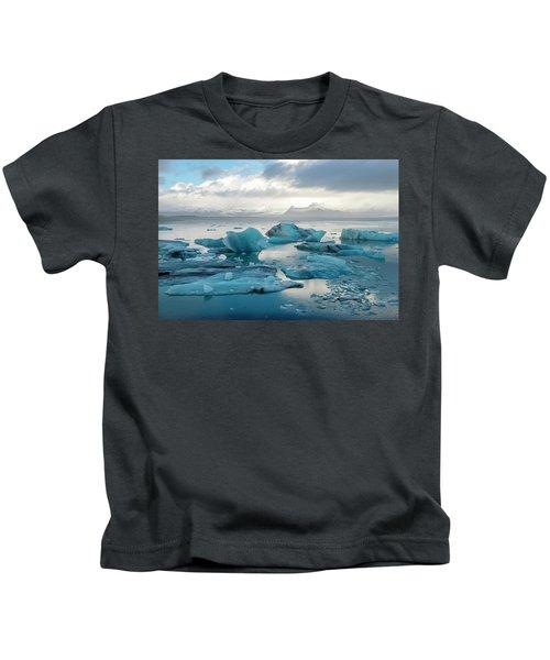 Jokulsarlon, The Glacier Lagoon, Iceland 6 Kids T-Shirt
