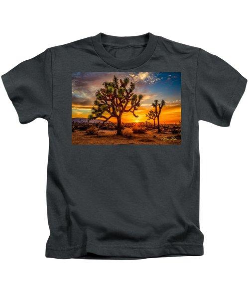 Joshua Tree Glow Kids T-Shirt