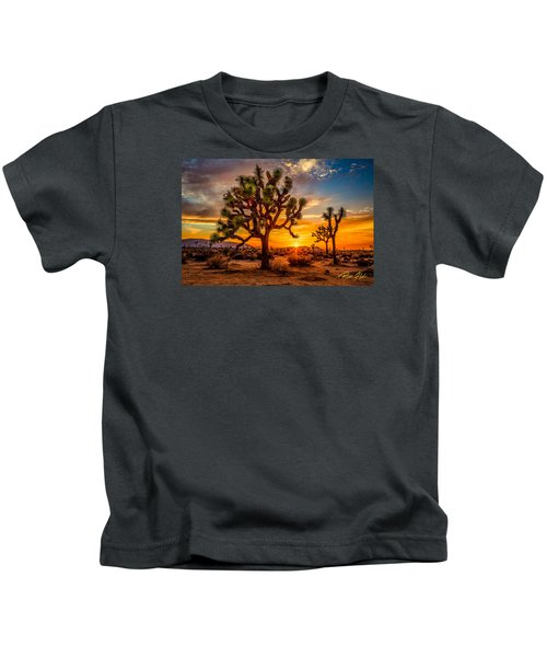 Joshua Tree Glow Kids T-Shirt