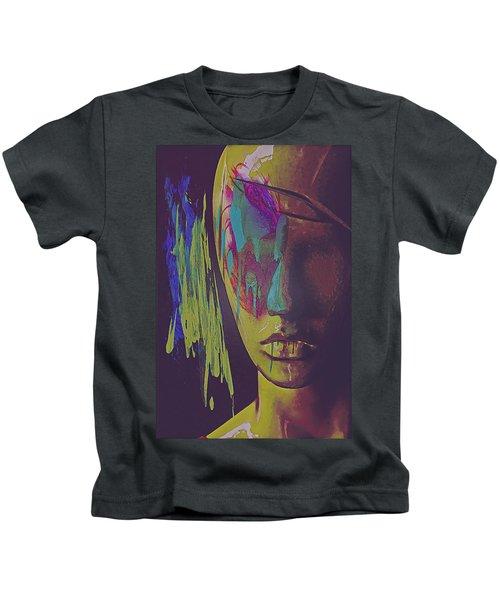 Judgement Figurative Abstract Kids T-Shirt
