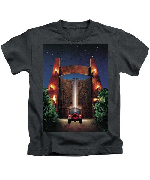 Jurassic Park 1995 Kids T-Shirt