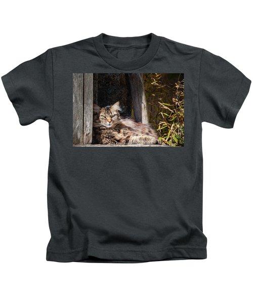 Just Lazing Around Kids T-Shirt