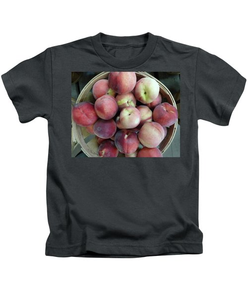 Just Picked Peaches Kids T-Shirt