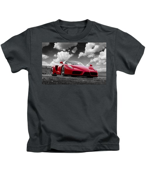 Just Red 1 2002 Enzo Ferrari Kids T-Shirt