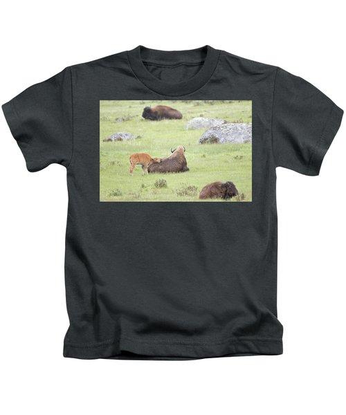 Just Resting My Eyes Kids T-Shirt
