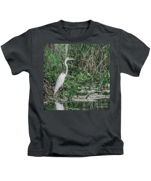 Just Wading Around Kids T-Shirt