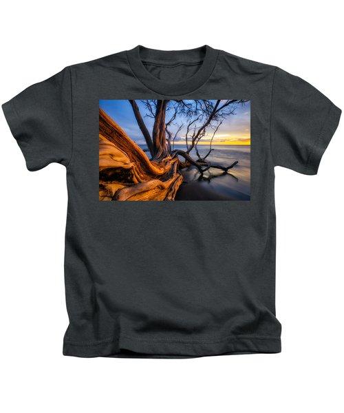 Kailiili Sunset Kids T-Shirt