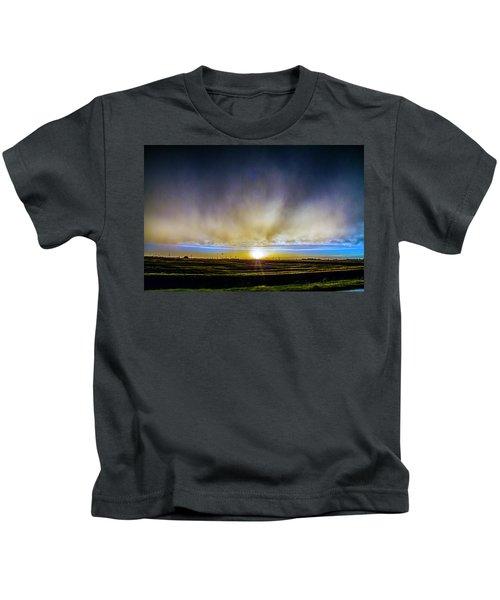 Kansas Storm Chase Bust Day 005 Kids T-Shirt