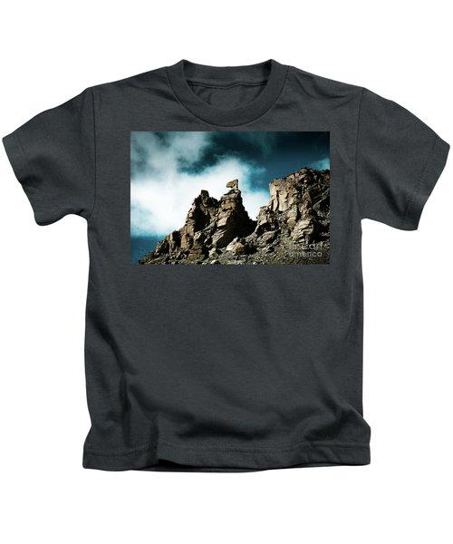 Karma Axe Tara Pass Kailas Himalayas Yantra.lv Kids T-Shirt
