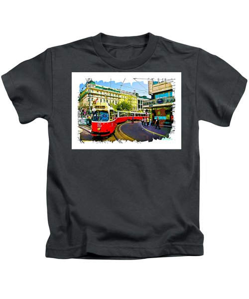 Kartner Strasse - Vienna Kids T-Shirt