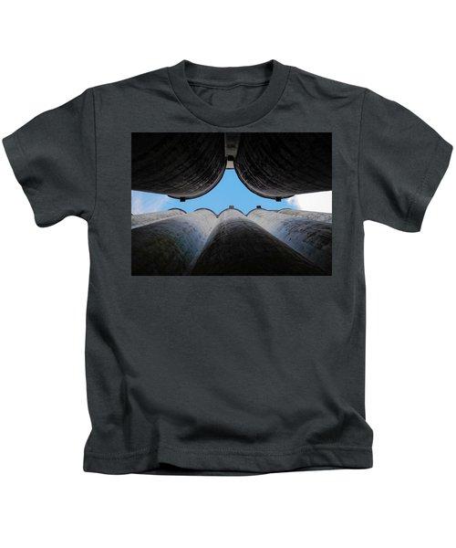 Katy Texas Rice Silos Kids T-Shirt