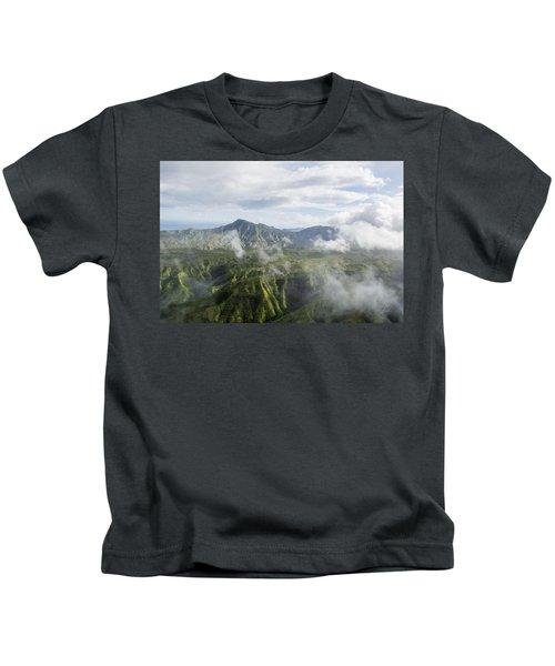 Kauai Mountain Range Kids T-Shirt