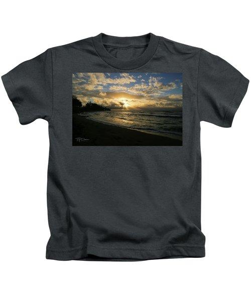 Kauai Sunrise Kids T-Shirt