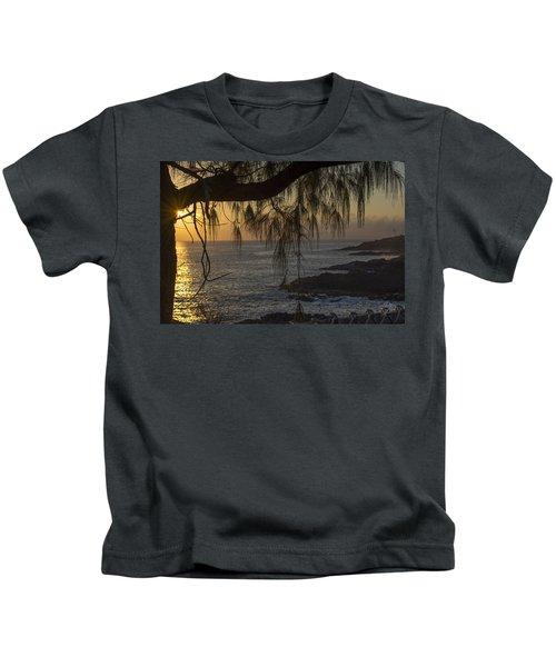 Kauai Sunset 2 Kids T-Shirt