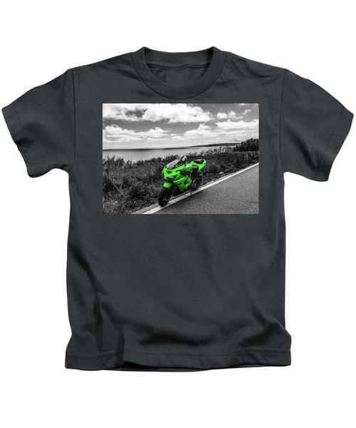 Kawasaki Ninja Zx-6r 2 Kids T-Shirt