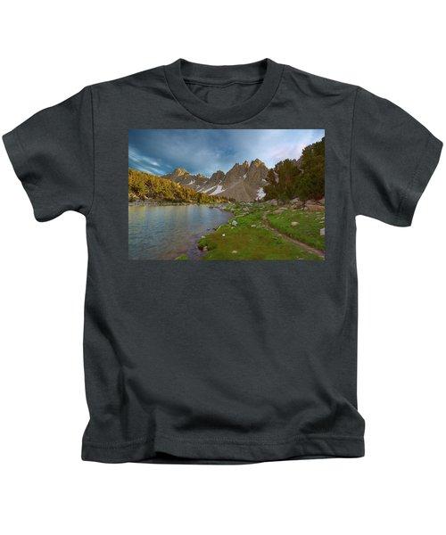 Kearsarge Lakes Trail Kids T-Shirt