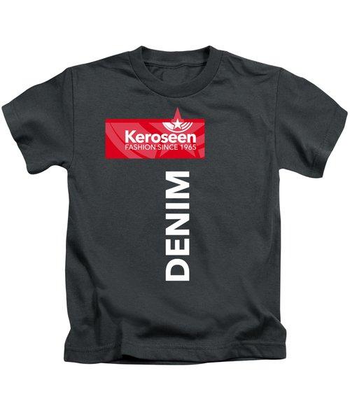 Keroseen Fashion Since 1965 Kids T-Shirt by Nop Briex