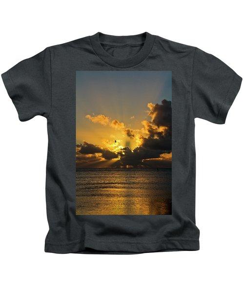 Key West Sunrise 39 Kids T-Shirt