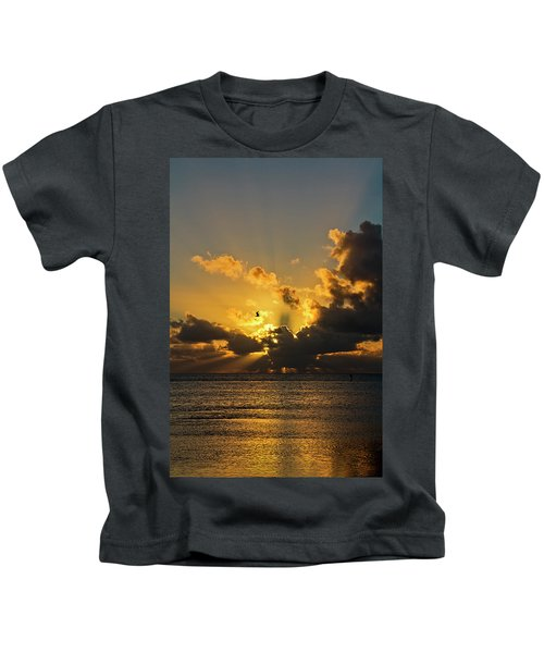 Key West Sunrise 39 Kids T-Shirt