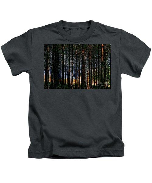 Kielder Forest And Kielder Water Kids T-Shirt