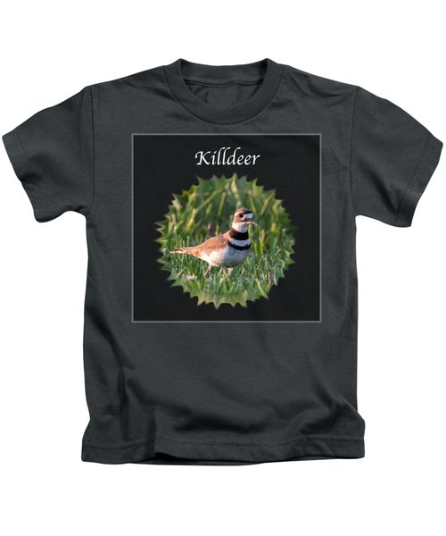 Killdeer Kids T-Shirt by Jan M Holden