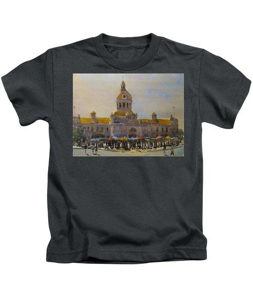 Kingston-city Hall Market Morning Kids T-Shirt