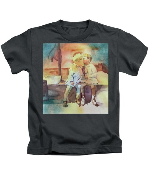 Kissing Cousins Kids T-Shirt