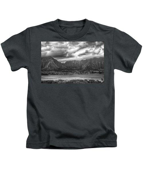 Ko'olau And H-3 Kids T-Shirt