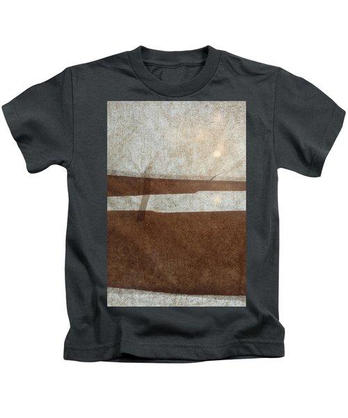 Kraft Paper And Screen Seascape Kids T-Shirt