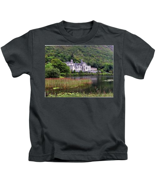 Kylemore Abbey, County Galway, Kids T-Shirt
