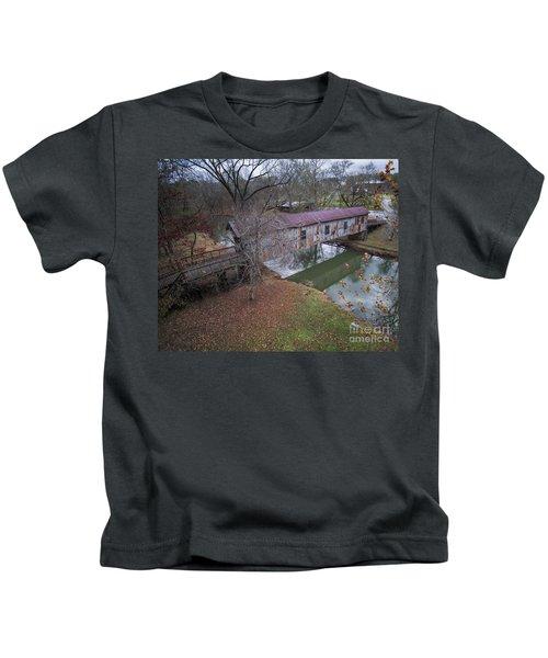 Kymulga Covered Bridge Aerial 1 Kids T-Shirt