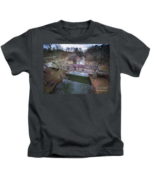 Kymulga Covered Bridge Aerial 2 Kids T-Shirt
