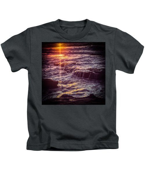 La Jolla Sunset Kids T-Shirt