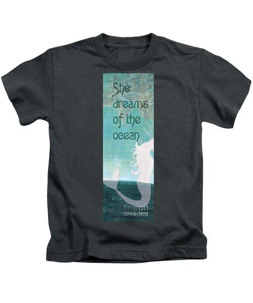 La Mer Mermaid 1 Kids T-Shirt